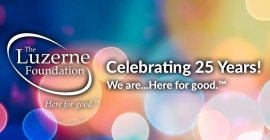 The Luzerne Foundation's  25th Anniversary Celebration – Table of 10